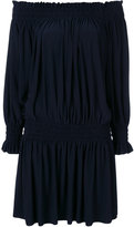 Norma Kamali Peasant dress - women - Polyester/Spandex/Elastane - XS