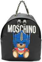 Moschino bear backpack - women - Calf Leather/Leather - One Size