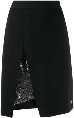 Philipp Plein Embellished Mini Skirt