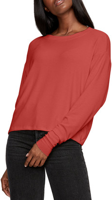 Michael Stars Chloe Scoop-Neck Pullover Sweater
