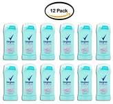 Degree PACK OF 12 Women Antiperspirant Deodorant Stick Sheer Powder 2.6 oz