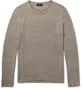 Theory - Filiep Linen-blend Sweater