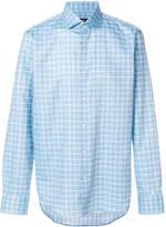 HUGO BOSS checked shirt