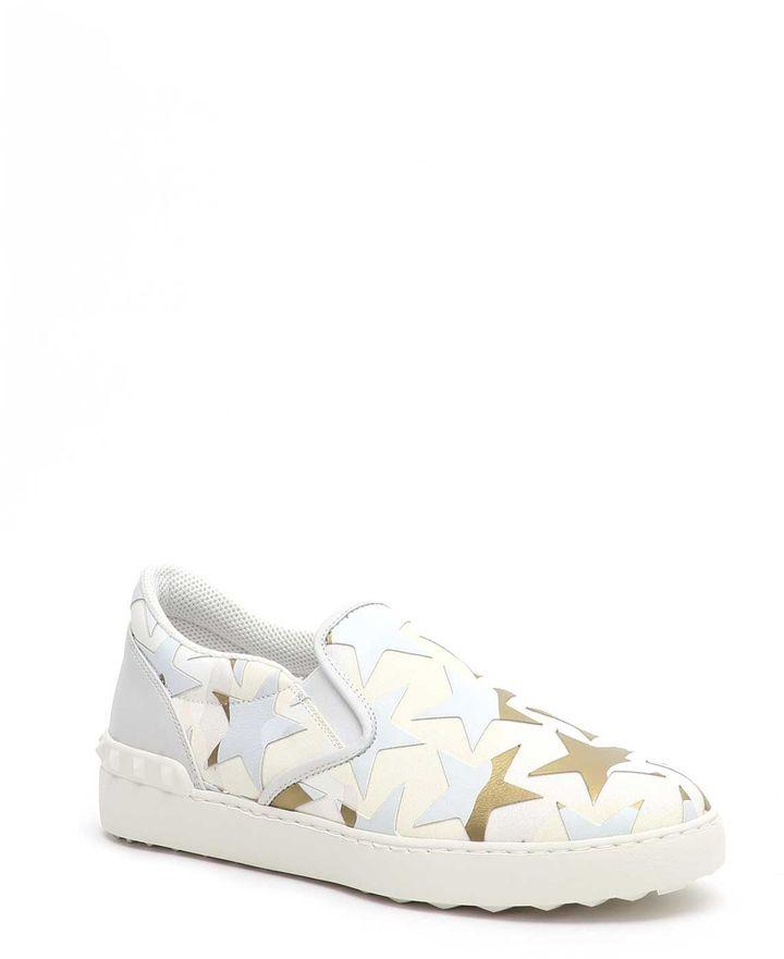 Valentino Garavani Camoustars Slip-on Sneakers