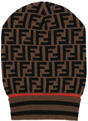 Fendi Cashmere and wool hat
