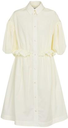 Simone Rocha Cotton poplin shirt dress