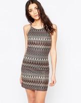 Glamorous Zig Zag Cami Dress