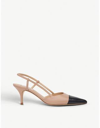 LK Bennett Hally leather slingback sandals