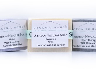 Organic House Natural Aromatherapy Soaps