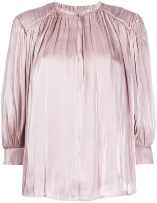 Rebecca Minkoff Pleated Detail Blouse