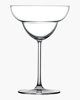 Nude Glass Vintage Margarita Glasses Set of 2