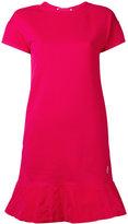 Moncler flared hem T-shirt dress - women - Cotton/Polyester - XS