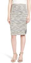 Halogen Side Slit Pencil Skirt (Regular & Petite