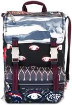 Kenzo multi icon backpack