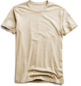 Todd Snyder Made in L.A. Jersey T-Shirt In Sand Dune