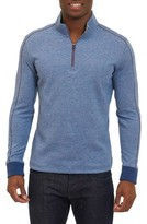 Robert Graham Men's Abdul Quarter Zip Pullover