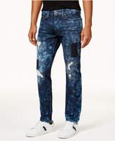 Sean John Men's Mercer Armageddon Slim-Straight Jeans
