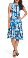 Felicity & Coco Print Fit & Flare Dress (Regular & Petite) (Nordstrom Exclusive)