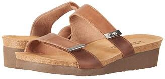 Naot Footwear Jacey - Wide (Black Velvet Nubuck/Black Raven Leather/Sterling Leather) Women's Shoes