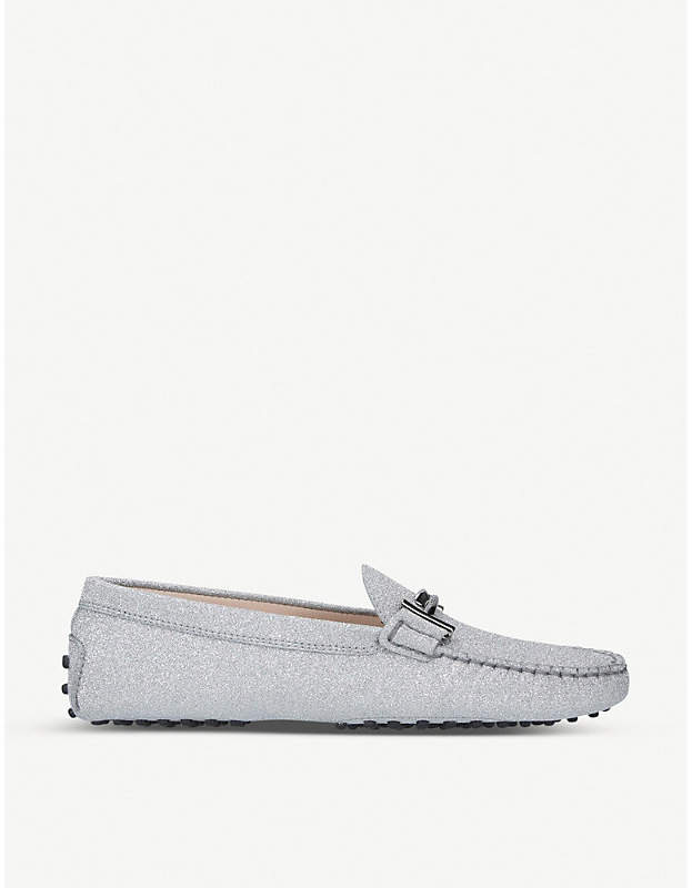 Tod's Tods Gommini Maxi Doppia leather loafers