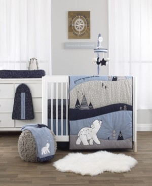 NoJo Cosmo Bear 4-Piece Crib Bedding Set Bedding