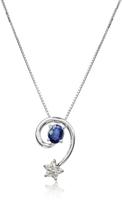 Tagliamonte Incanto Royale Sapphires and Diamond Star 18K Gold Pendant Necklace