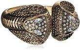 Amrita Singh Cobra Crystal Cuff Bracelet