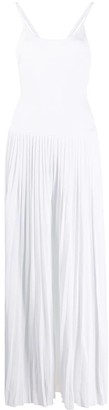 Alexandre Vauthier Pleated Day Dress