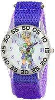 Disney Kids' W001677 Tinker Bell Analog Display Analog Quartz Purple Watch