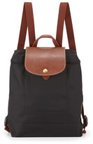 Longchamp Le Pliage Nylon Backpack, Black