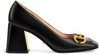 Gucci Women's mid-heel pump with Horsebit