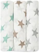 Aden + Anais Infant Unisex Star Print Silky Soft Swaddles