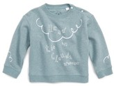 Burberry Infant Girl's Graphic Pullover