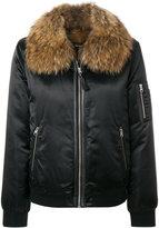 Mackage fur trimmed bomber jacket