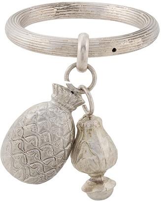 Gianfranco Ferré Pre Owned 2000s Dangling Charms Bracelet