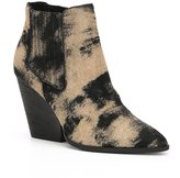 Me Too Adam Tucker by Mason Calf Hair Wedge Booties