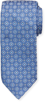 Eton Men's Silk Medallion Tie