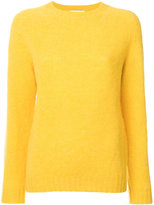 Officine Generale textured crew neck sweater