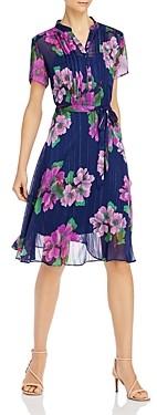 Nanette Lepore nanette Floral Print Belted Dress