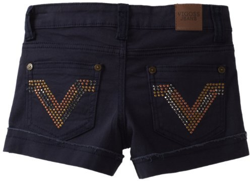 Vigoss Girls 7-16 Gold Tone Short
