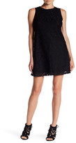 Nine West 10647202 Sleeveless Floral Lace Cocktail Dress