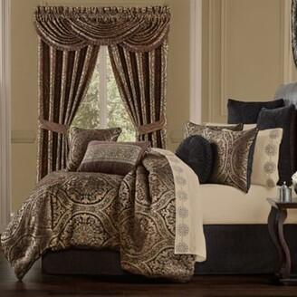 J Queen New York Jordan 4-Piece King Comforter Set in Chocolate