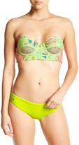 Maaji Lime Surrealism Reversible Signature Bikini Bottom