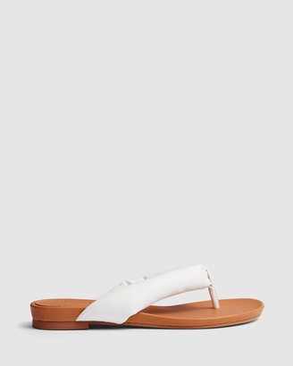 cherrichella - Women's White All thongs - Breeze Sandals - Size One Size, 37 at The Iconic