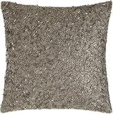 """Donna Karan Home Metallic Beads Pillow, 12""""Sq."""