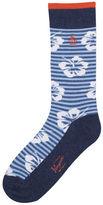 Original Penguin Hibiscus Stripe Sock