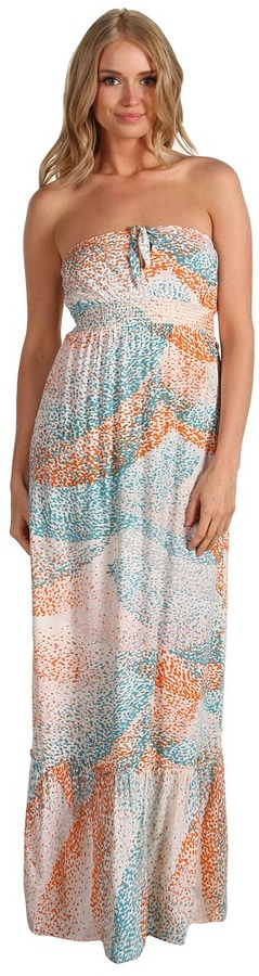 Roxy World Festival 2 Dress (Hot Orange Print) - Apparel