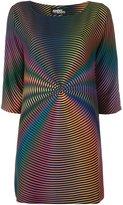 Jeremy Scott rainbow dress