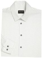 Giorgio Armani Regular-Fit Printed Dress Shirt