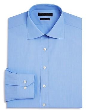 The Men's Store at Bloomingdale's Fine Line Stripe Regular Fit Basic Dress Shirt - 100% Exclusive